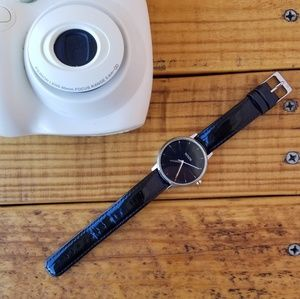nixon • the lexington leather watch